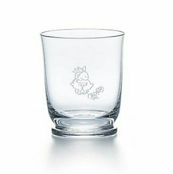 f57a19a07a2b Tiffany   co. Water Glass With Bunnies